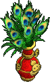 Furniture-Golden vase (peacock).png