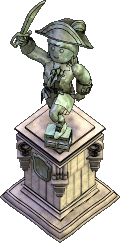 Furniture-Female pirate statue.png