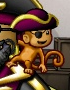 Monkey with Hat & Eye Patch