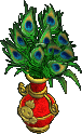 Furniture-Golden vase (peacock)-2.png