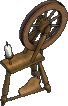 Furniture-Spinning wheel.png