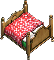 Furniture-Fancy bed-3.png