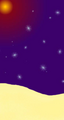 Art-Purple Clown-Starry Night.png